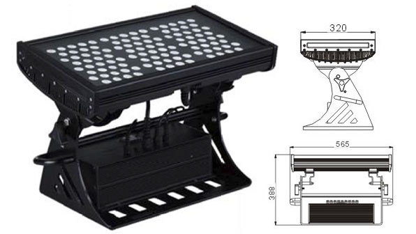 ዱካ dmx ብርሃን,መሪን ከፍ ያለ ጀልባ,500W መረባ IP65 DMX LED ግድግዳ ማጠቢያ 1, LWW-10-108P, ካራንተር ዓለም አቀፍ ኃ.የተ.የግ.ማ.