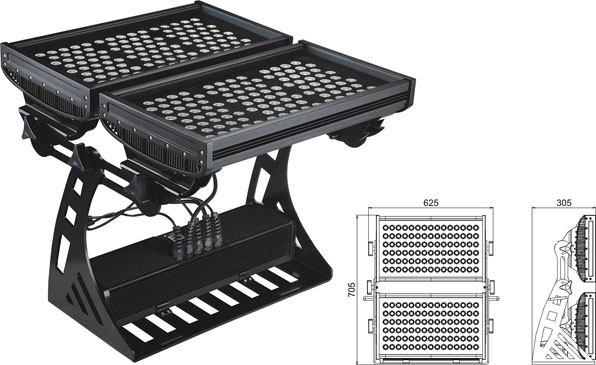 ዱካ dmx ብርሃን,መሪን ከፍ ያለ ጀልባ,500W መረባ IP65 DMX LED ግድግዳ ማጠቢያ 2, LWW-10-206P, ካራንተር ዓለም አቀፍ ኃ.የተ.የግ.ማ.
