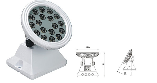 ዱካ dmx ብርሃን,የ LED flood flood,25W 48W ካሬ LED ግድግዳ ማጠቢያ 1, LWW-6-18P, ካራንተር ዓለም አቀፍ ኃ.የተ.የግ.ማ.