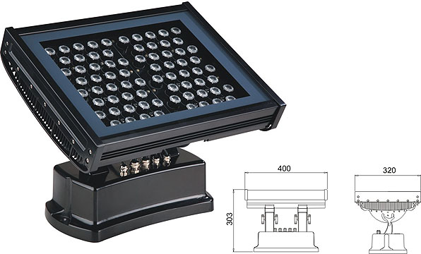 ዱካ dmx ብርሃን,LED flood floodlights,108W 216W ካሬ LED ግድግዳ ማጠቢያ 2, LWW-7-72P, ካራንተር ዓለም አቀፍ ኃ.የተ.የግ.ማ.