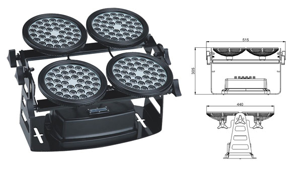 Led drita dmx,Dritat e rondele me ndriçim LED,LWW-8 rondele e rrymës LED 1, LWW-8-144P, KARNAR INTERNATIONAL GROUP LTD